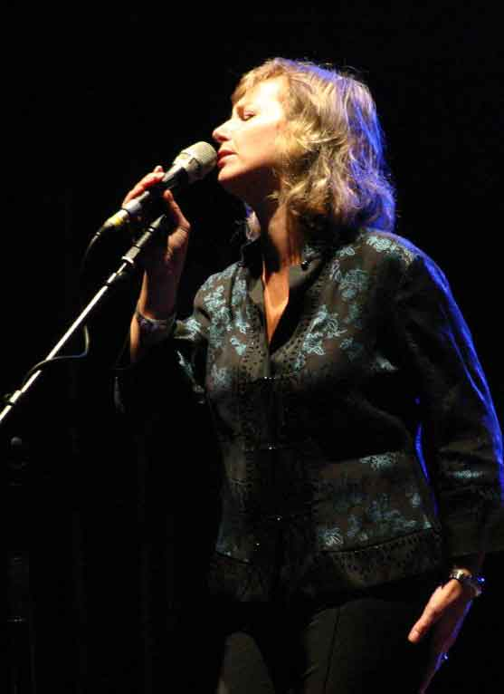 Photo of Christine Collister singer artist on www.oneworldoursong.com
