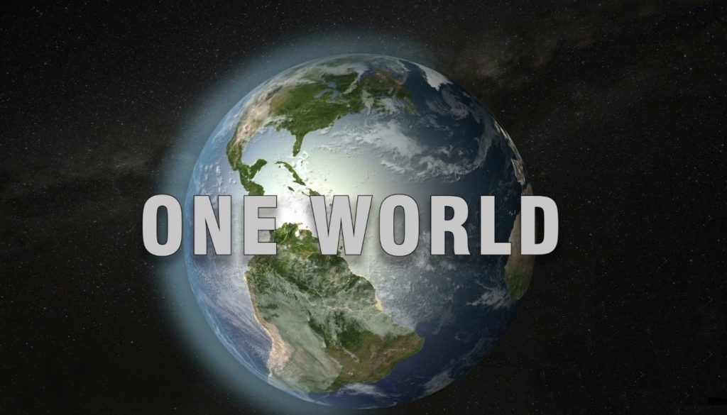 Voices 4 One World Logo